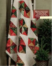 Crystal Christmas Quilt Pattern Pieced HD