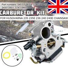 Carburetor Carb For Husqvarna 235 235E 236 240 240E Chainsaw 545072601 574719402