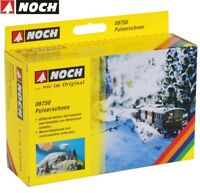 NOCH 08750 Pulverschnee 200 g Packung (100 g - 3,15 €) - NEU + OVP