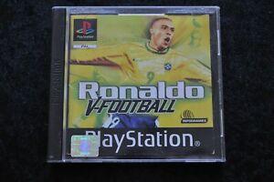 Ronaldo V Football Playstation 1 PS1 Geen front Cover