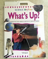 Harcourt Brace Science Anytime What's Up? Big Book & Activity Card Set Grade 1
