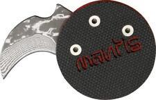 Mantis Civilianaire Coin Knife Demon Edition Plain Hawkbill Blade MANMCK1