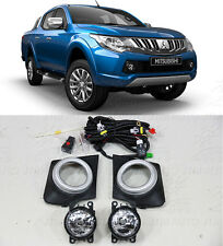 Driving/ Fog Lights Lamps Complete Kit Suits to Mitsubishi Triton 2015-2017