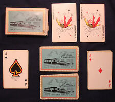 Original 1950s Jacob's Mobile Homes Sales Milwaukee Wisconsin Playing Cards