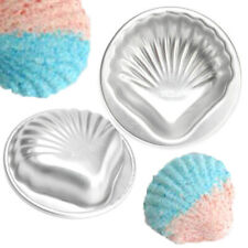 Crafting Metal Bath Bomb Mold Bath Fizzy Shell Shape DIY Metal Molds Set !