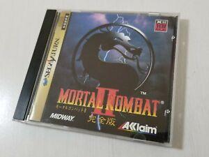 Sega Saturn Mortal Kombat II 2 Japan 0920A12
