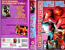 "VHS - "" Battle ROYAL - American Women`s WRESTLING """