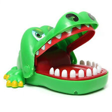 For Children Kids Big Mouth Crocodile Toy Gags Joke Dentist Bite Finger Game