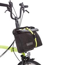 BROMPTON Roll Top Bag + frame (Grey/Black/Lime Green)