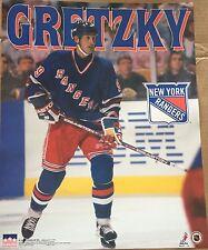 Wayne Gretzky New York Rangers  16x20 Starline Poster  OOP