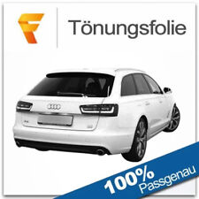 3D Tönungsfolie VORGEWÖLBT Audi A6 C7 Avant Bj ab 2011