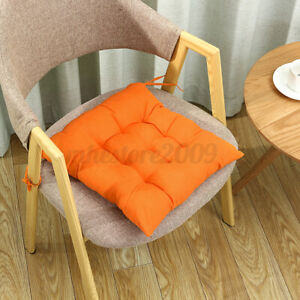 Colorful Indoor Outdoor Soft Cushion Seat Chair Pad with Ties Garden Dining Yard