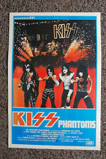 Kiss Attack of the Phantoms Lobby Card Movie Poster  #2