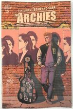 The Archies Meet TEGAN and SARA Comic ~ VARIANT Cover A ~ Riverdale Archie