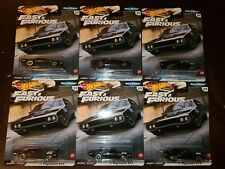 Hot Wheels 2020 Fast & Furious Full Force '71 Plymouth GTX Black (Lot of 10) NEW
