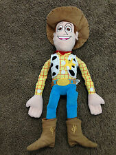 "Toy Story Woody Cowboy Disney Plush Toy 26"" ~ USED"