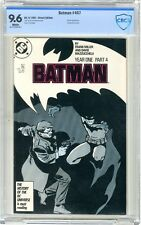 Batman  #407  CBCS  9.6  NM+  White pgs  4/87  Direct Edition  Roman App. Harvey