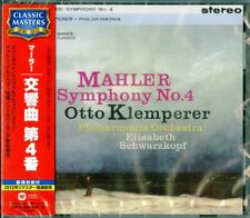 OTTO KLEMPERER-MAHLER: SYMPHONY NO.4-JAPAN CD C68