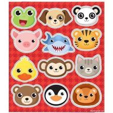Cute Animal Stickers - 24 Supplied - Great Party Bag Fillers