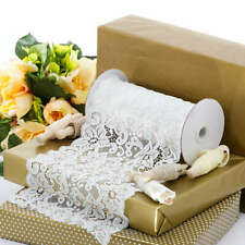 """Lace SEWING craft decor favors ribbon 5 yards trim 6½"""" rustic country elegant"""