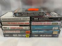 (11 Cassette Lot) Pee Wee King ELVIS PRESLEY Paul Winter WHITTAKER Stanley Clark