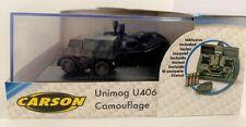 Carson 500504127 - 1:87 MB Unimog U406 Camouflage 100% RTR #NEU in OVP#