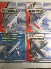 Matchbox Skybusters Airplane X 4 New In Pack Hero City