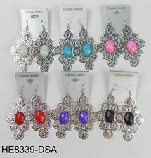 Wholesale Earring Lot 6 pairs Drop Colorful Dangle Fashion Earring #730-29