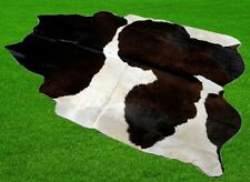 "New Cowhide Rugs Area Cow Skin Leather 24.11 sq.feet (62""x56"") Cow hide A-5822"