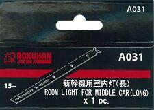 Rokuhan A031 Interior Lighting Kit for Shinkansen Middle Car Long 1pc Japan