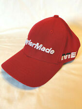 New Asian Tour Issue Taylormade M6 Golf Hat Structured Front Adjustable Red