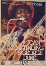JOAN ARMATRADING CONCERT TOUR POSTER 1979 TO THE LIMIT