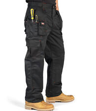 LEE COOPER  CARGO STYLE WORK TROUSERS WITH MULTI TOOL AND KNEE PAD POCKETS!