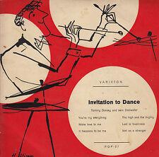 45TRS VINYL 7''/ GERMAN EP VARIETON 27 / INVITATION TO DANCE / TOMMY DORSEY