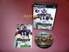 Ps2 _ Madden 2002 _ alemana primera edición muy buen estado _ 1000 juegos en la tienda