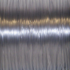 50 YARDS (45m) SPOOL CLEAR S'GETTI REXLACE PLASTIC LACING CRAFTS CYBERLOX