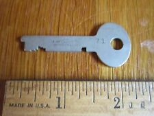 Vintage Key Sargent & Greenleaf Rochester NY 71 Old Collectible FREE SHIP