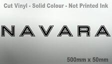 NAVARA 4x4 d40 d22 np300 UTE Bonnet Protector canopy sticker 500mm