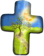 metALUm Kreuz Acrylmagnet mit starkem Neodym - Magnet Olivenbaum #135013021