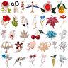 Wedding Bridal Bouquet Brooch Pin Women Rhinestone Crystal Flower Brooch Gifts