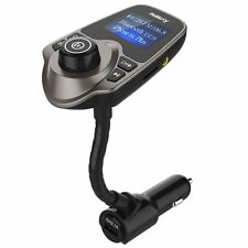 Nulaxy Wireless In-Car Bluetooth Fm Transmitter Radio Adapter Car Kit - Brown