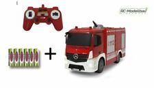 Jamara 404970 Feuerwehr TLF mit Spritzfunktion Mercedes-Benz Tanklöschfahrzeug