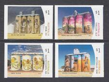 AUSTRALIA 2018 - SILO ART Paintings on FARM Grain Silos P&S Set of 4  MNH