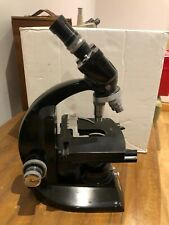 Vintage Vickers instrumentos Microscopio con 3 Vickers & 2 Carl Zeiss Kpl-W 12,5x