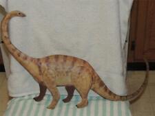 "Metal tin Brontosaurus Wall Hanging Childs Room 22"" Long Nursery Dinosaur"