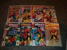 Warlock Chronicles 1-8 set ......... Thanos, Thor, Silver Surfer