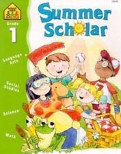 Summer Scholar - Language Social Science Math - Grade 1, Answer Key, School Zone