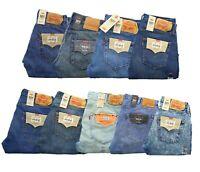Levi's 501 Jeans Men's Straight Leg Button Fly Original Denim Jean Pants $59