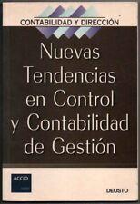 NUEVAS TENDENCIAS EN CONTROL Y CONTABILIDAD DE GESTION - ACCID