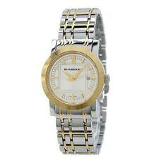 NEW Burberry BU1359 Classic Swiss Two Tone Stainless Steel Bracelet Ladies Watch